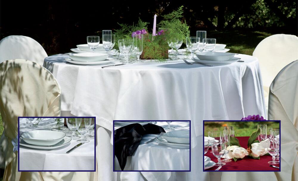Lavaggio e noleggio biancheria per ristoranti