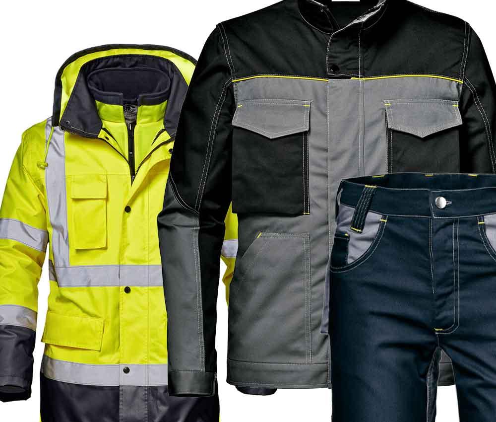 Abiti da lavoro settore workwear&services