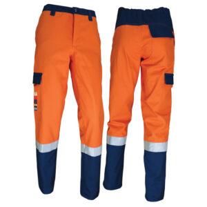 Pantalone da lavoro multinorma bicolore