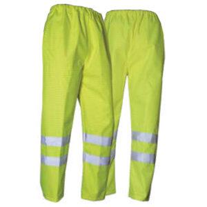 Pantalone impermeabile multinorma alta visibilità