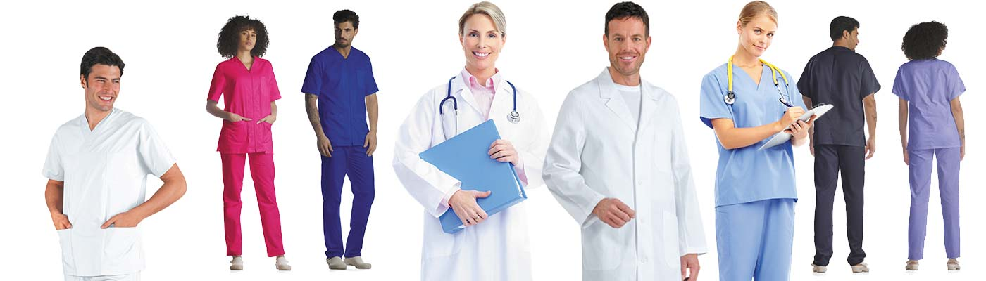 Lavaggio, noleggio e sanificazione abbigliamento da lavoro sanitario