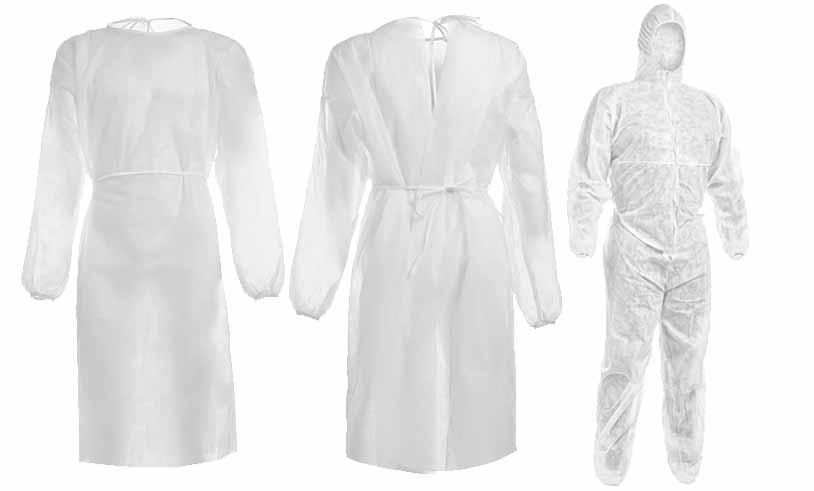 Abbigliamento sanitario monouso
