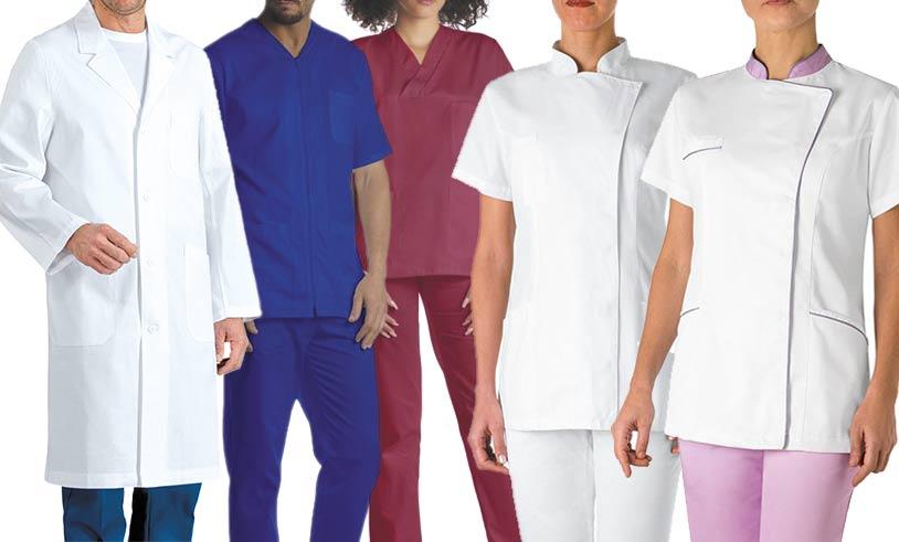 Abbigliamento reparto sanitario