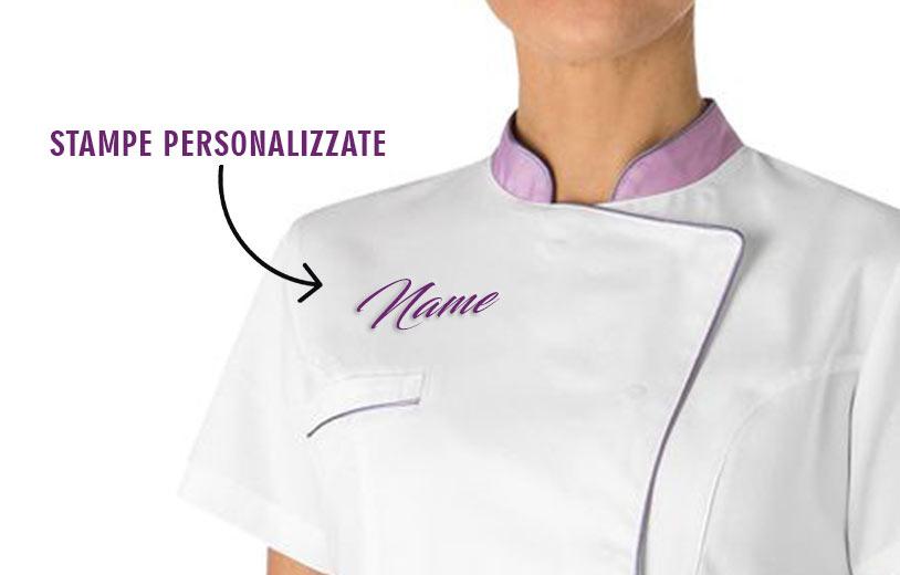 Stampa personalizzata abiti sanitari