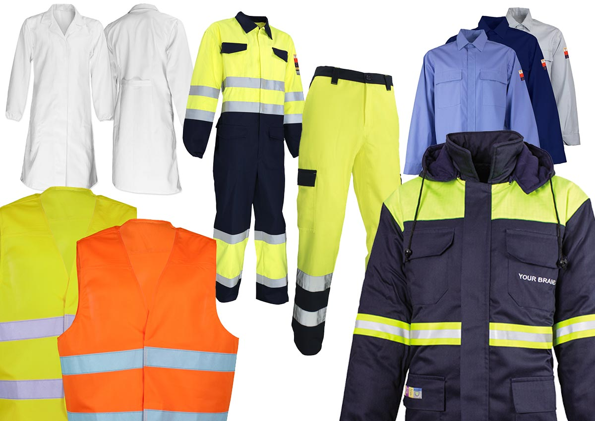 Abbigliamento da lavoro workweare services
