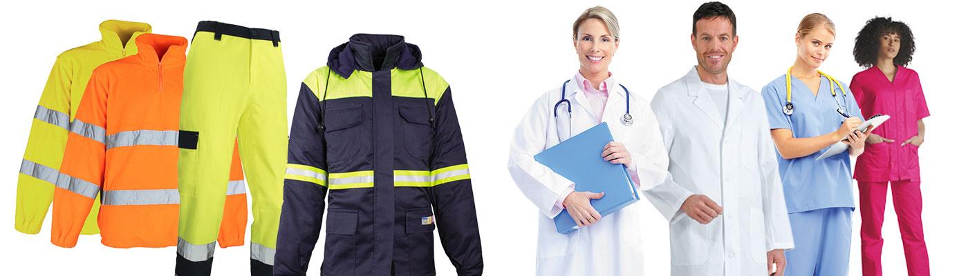 Noleggio, lavaggio, sanificazione abiti da lavoro